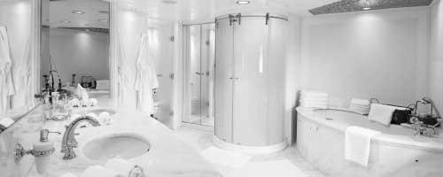 монтаж душ кабина